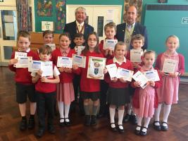 Whittington School Rotakids Club Receives Charter