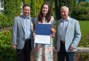 Jam Manufacturer and Local Rotarian Honoured