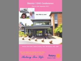 District Conference - at the Norton Park Hotel, Winchester