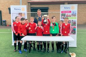 ANTONINE WIN 2019 PRIMARY SCHOOLS FOOTBALL CUP