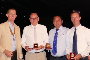 The Networking Boys win the Rotary Club of Rayleigh Mill's 8th Annual Charity Golf Tournament