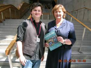 Connor at Holyrood