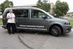 New Vehicle  for Witney Hospital