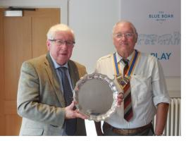 Witney Rotarians win District 1090 Award