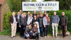 Visit of our French friends in May 2019