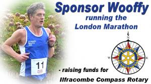 Wooffy Runs 'The London Marathon' for Compass