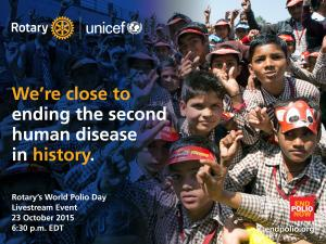We are that close - End Polio Now!