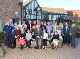 Chartering of Wych-Malbank Nantwich Rotary Club