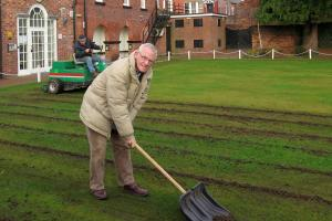 Tining is Everything!  Mary Hignett Bequest Supports Wynnstay Bowling Club's January Treatment