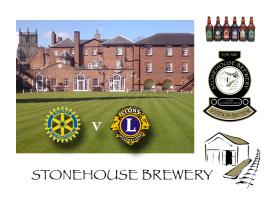Bowls Match v Lions, The Wynnstay 1.30pm Stonehouse Brewery Tour 5.00pm