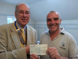 CHRISTCHURCH ROTARY PRESENTATION TO CHRISTCHURCH YOUTH CLUB