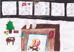 Whiteley Rotary Xmas Painting Competition Winners