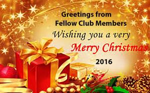 Christmas Greetings from Fellow Club Members