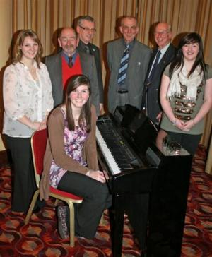 2011 Young Thornhill Musical Talent Wins through in Dumfries.