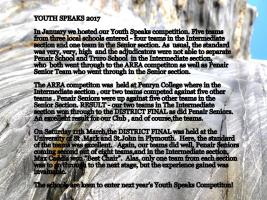 TRURO ROTARY YOUTH SPEAKS 2017