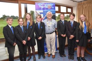 Year 7 Interact Club Visit