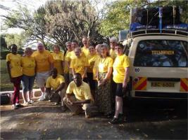 The Yellowmen in Kenya - February 2016