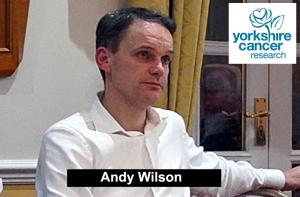 Activities of the Yorkshire Cancer Research Charity by Andy Wilson