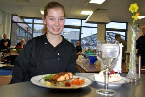 Lauren McLay was the winner and Vaila Robertson runner-up in the East Area round of the Young Chef competition which was held in Preston Lodge High School.  The two Beeslack pupils go on to the District final to be held on 23 February.  Good luck to both