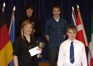 Thornhill's Young Flautist is 2010 Zone Winner