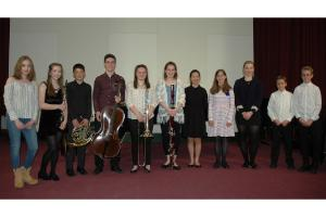 Young Musicians Hit the High Notes