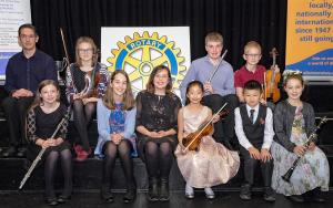 A first heat of Young Musician Competition 2018/19