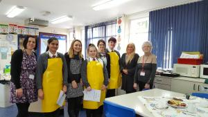 Whitchurch High School Pupils Prepare Culinary Delights