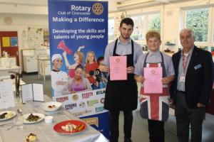 2016 - Our Young Chefs, Finn Justice and Jo Towning, both from Deer Park School