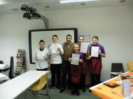 Young Chef 2016-2017 Competition - Club level round