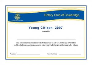Young Citizens Awards