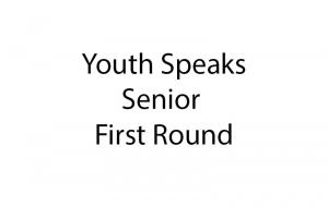 Youth Speaks R1 Senior Pictures Only