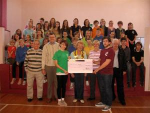 £250 raised for South Wight Youth Theatre