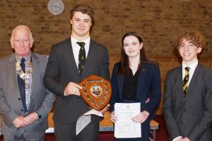 Outstanding public speaking at Bishop's Stortford Rotary's Competitions