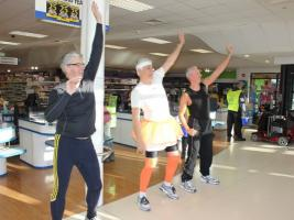 Zumba in the Co-op