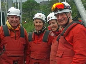 Rotaventure - Club Trip to Bethesda Zip World, Snowdonia