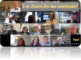 April 26th Zoom 53 - A celebration (?) of one year of ZOOM!