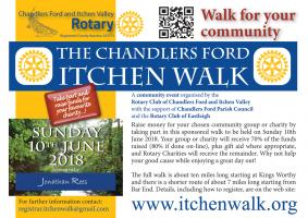 Please Support Our Sponsored Walk This Year