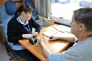 Blood Pressure Monitoring on Saturday 5th April 2014