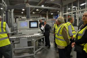 Visit to Warners Group plc in Bourne