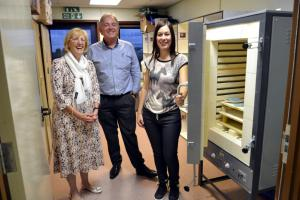 Launch of new Kiln for charity Sense