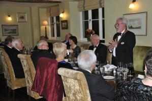 President's night at the Lion in Leintwardine