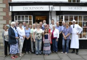 Pork Pie making at Dickinson & Morris, Melton Mowbray June 15th 2016