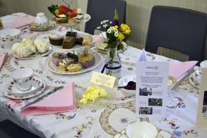 Annual Cream Tea Event at the Bourne Abbey Church Hall 18th March 2018