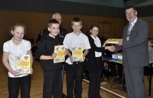 Presentation of Dictionaries 4 Life to Prestonpans Primary