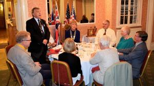 Visit to Pickering Rotary Club