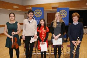 Feb 2017 Annual Young Musician of the Year District Competition