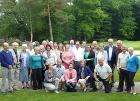 May 2016 A Club Trip to Holland - Enschede Nord 50th Charter Night Dinner