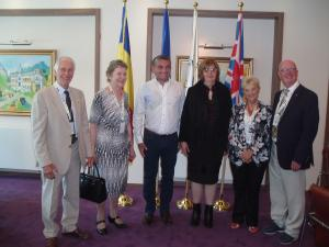 Thame Inner Wheel and Rotarians at Sinaia Forever 2015
