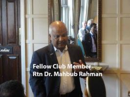 Speaker Meeting Mahbub Rahman  (India -my journey) Part 1