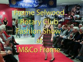 Fashion Show at M&Co Frome in aid of Frome Day Centre